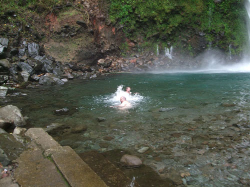 Camiguin Island waterfalls day tour from FloWer Beach