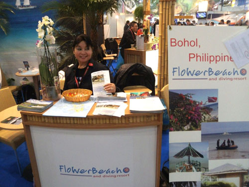 FloWer Beach at Boot 2012 diving show in Dusseldorf, Germany