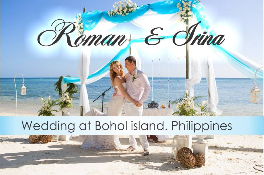 Wedding at Bohol Island, Philippines at FloWer Beach resort