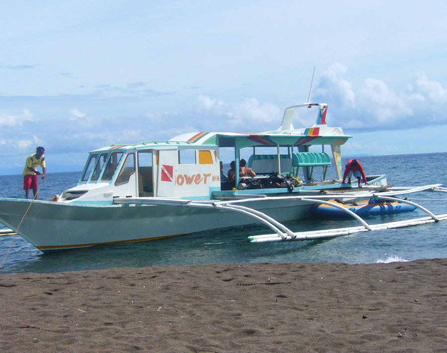 Boat ride around Anda, Bohol in gorgeous Philippines