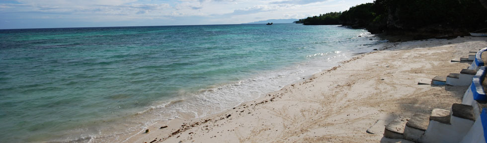 Anda beach in Bohol island