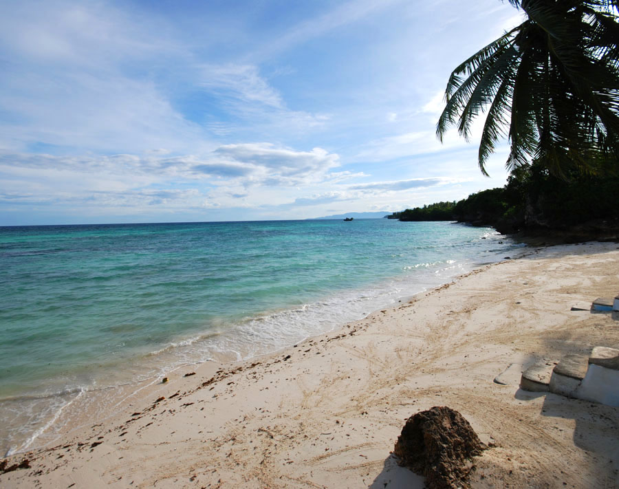 Private beach for divers in Anda, Bohol