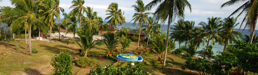 Resort in the nature of the Philippines