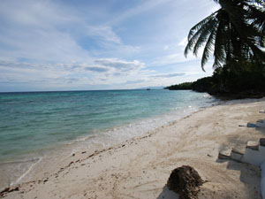 Beach with private access for guests