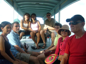 tours and excursions on boat in bohol