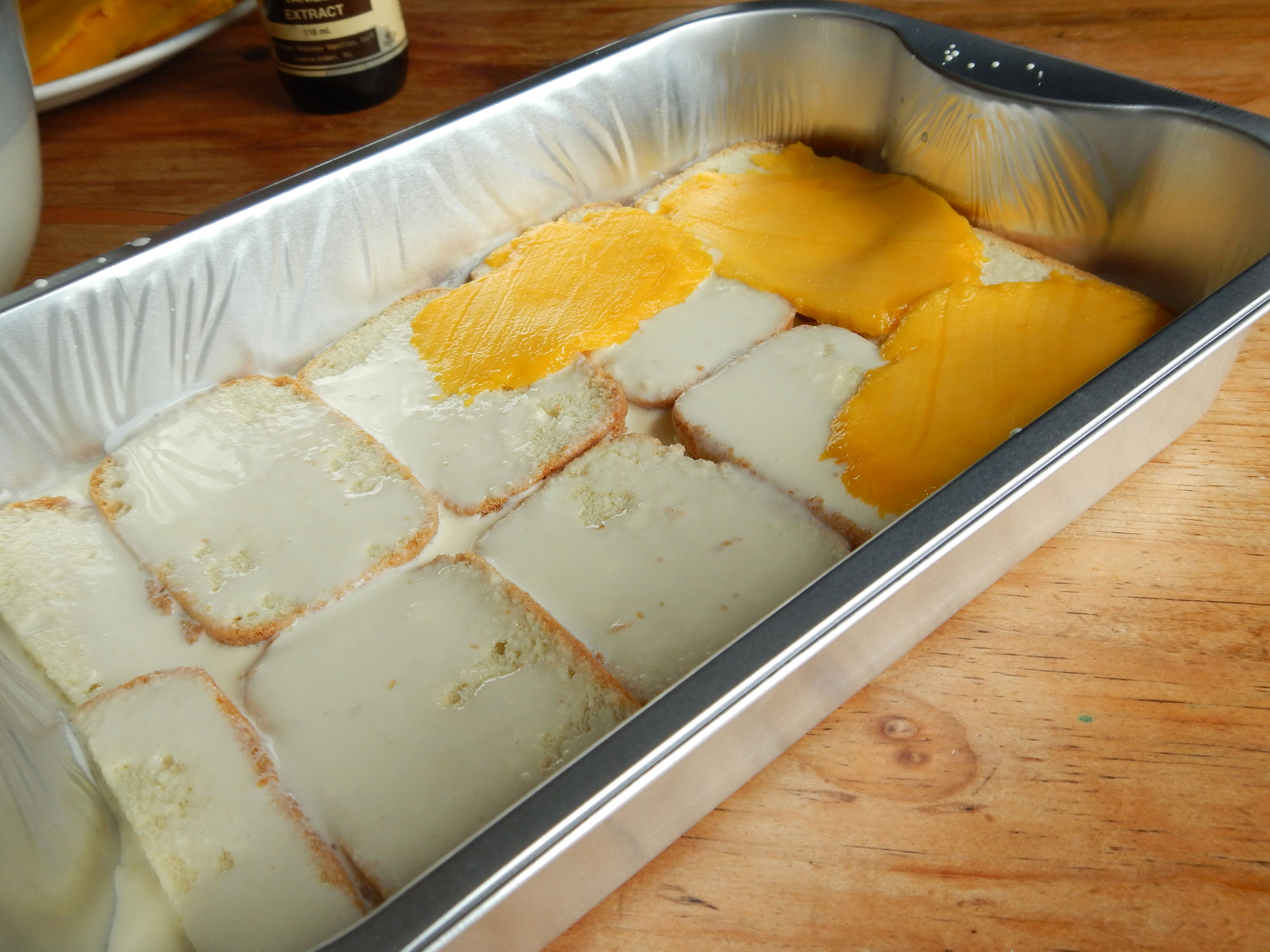 How To Make A Mango Float Cake