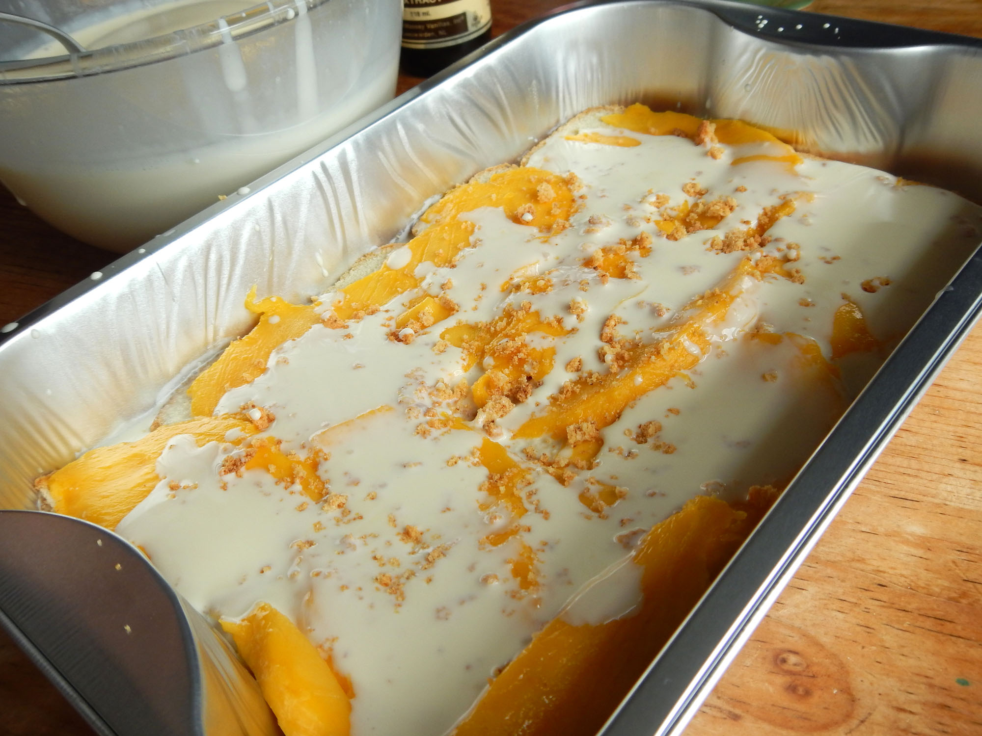 Mango float preparation